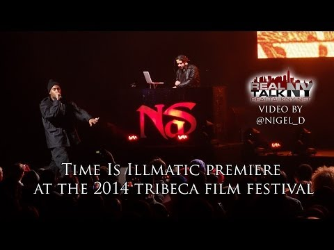 "Nas Premieres ""Time Is Illmatic"" And Performs Illmatic"