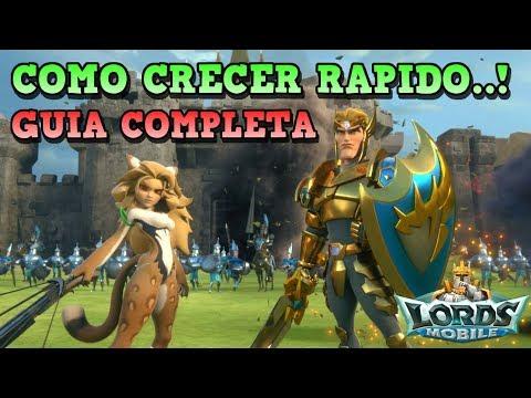 COMO CRECER SUPER RAPIDO..! | LORD MOBILE | [RidoMeyer]