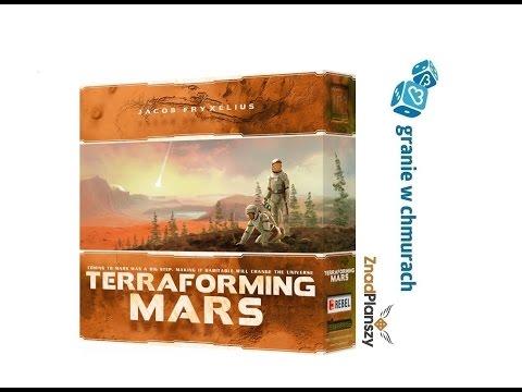 Terraformacja Marsa- zasady, przykładowa rozgrywka