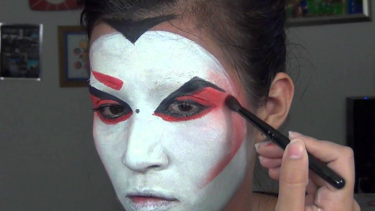 20 Kabuki Theatre Makeup Pictures And Ideas On Carver Museum - Kabuki-makeup