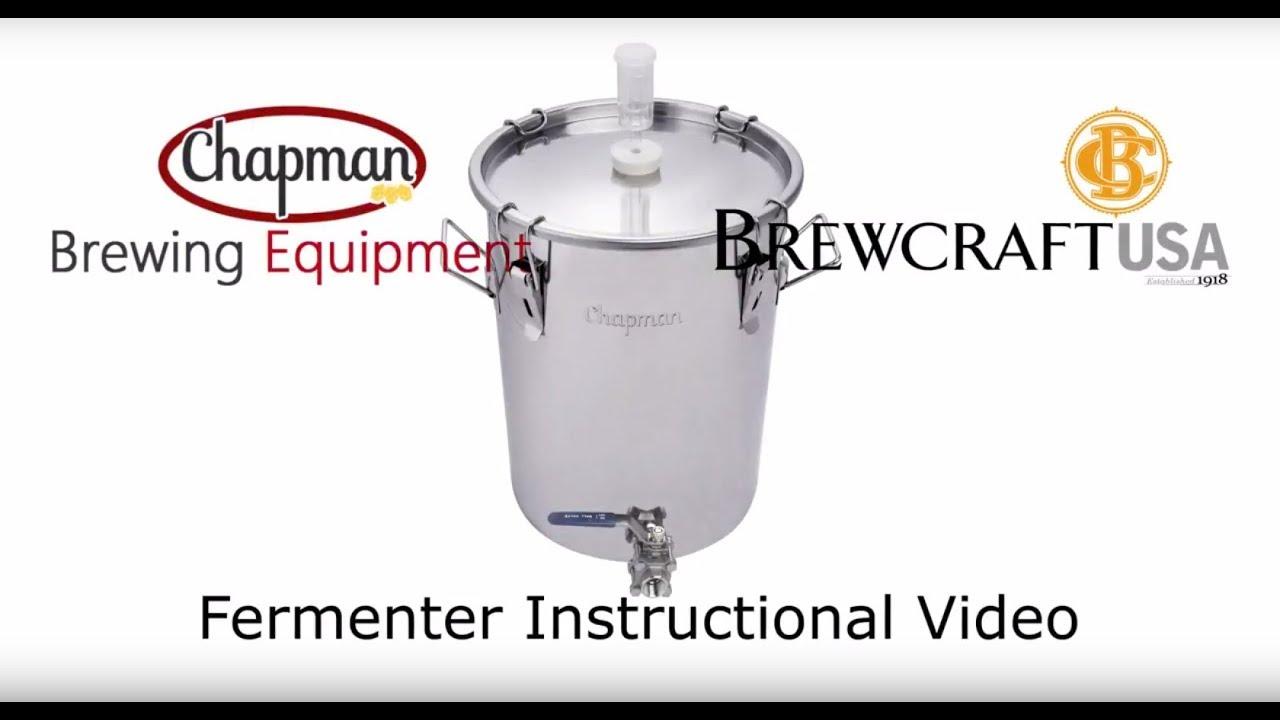 Portless 14 (53L) gallon UniVessel - Stainless Steel Fermenter