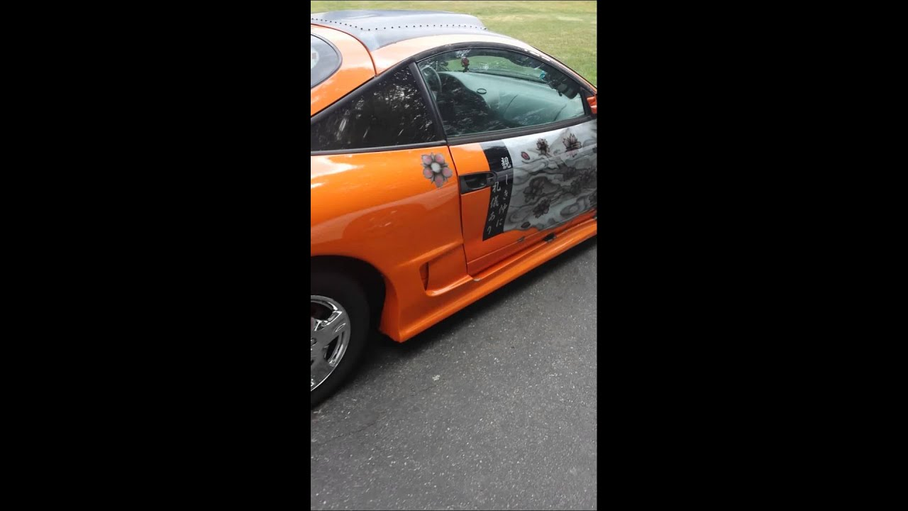 1996 mitsubishi eclipse 20 custom air brush for sale