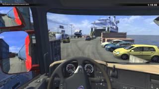"""Мастерство вождения в """"Scania Truck Driving Simulator"""" - Переправа"""