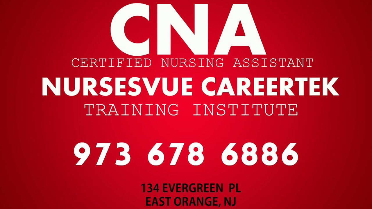 Nursing Aide Training In East Orange New Jersey Youtube