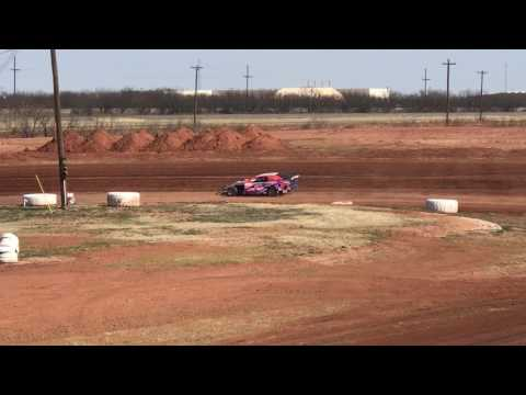 Austin's 1st time out - practices 02/12/2016 @ Abilene Speedway
