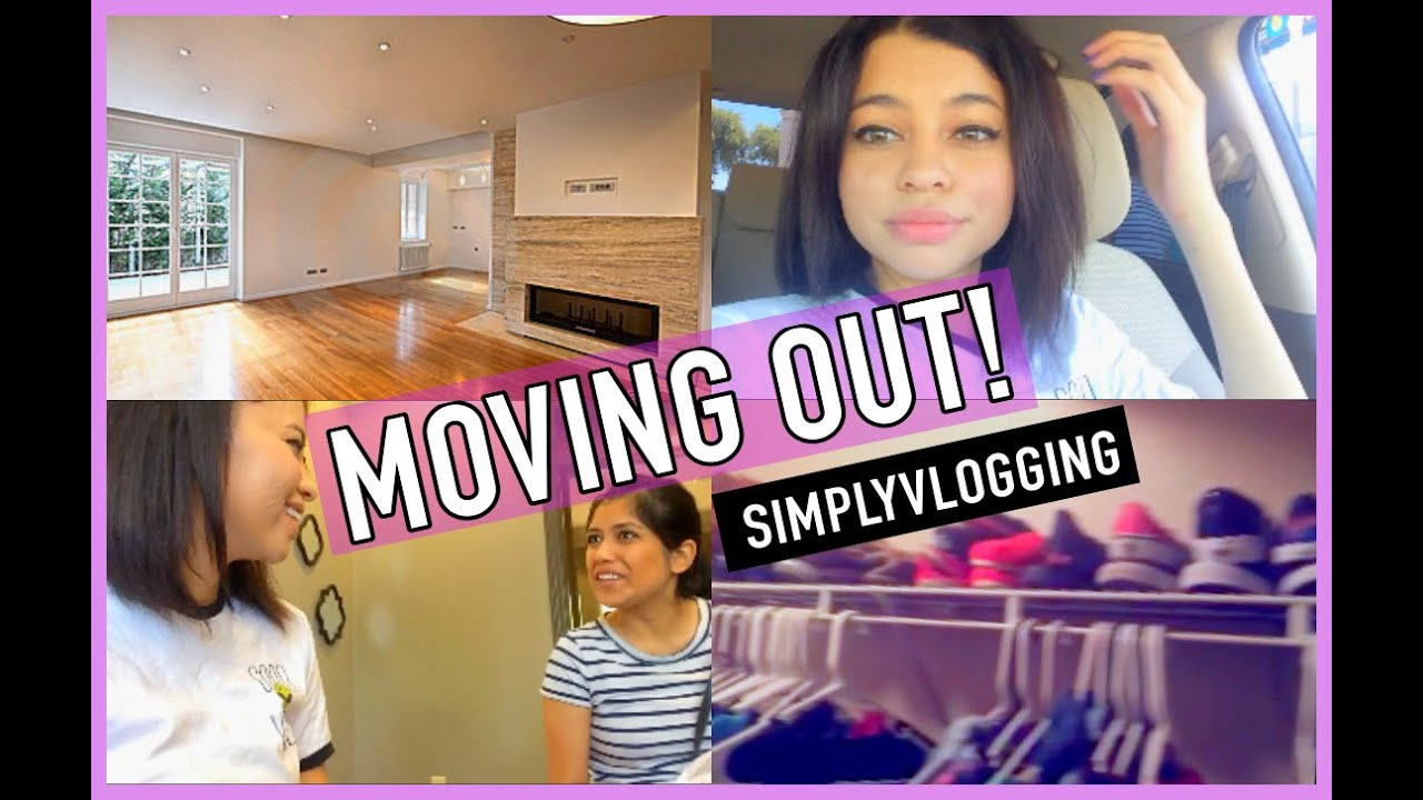 MOVING OUT VLOG SIMPLYNESSA15  Doovi