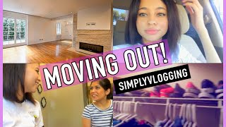 MOVING OUT VLOG! |SIMPLYNESSA15|