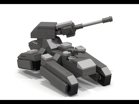 How To Build Lego Halo Scorpion Tank