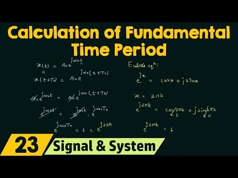 Calculation of Fundamental Period