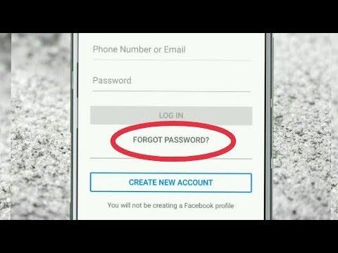 Facebook messenger password reset not working