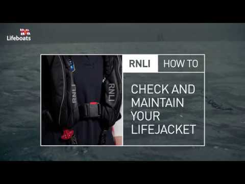 How to check and maintain your lifejacket