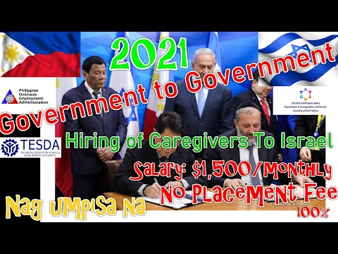 PAANO ANG TAMANG PROSESO NG PAG AAPLY PAPUNTANG ISRAEL ..ALAMIN MULA  POEA AT TESDA VIA ZOOM (2021)