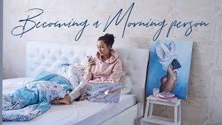 Как просыпаться рано утром