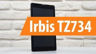 Распаковка Irbis TZ734 / Unboxing Irbis TZ734