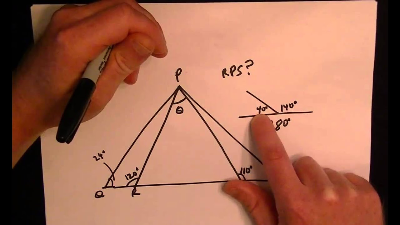 Most Missed GED Math Test Problem - Triangle Geometry - YouTube