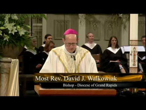 Easter Sunday of the Lord's Resurrection 2017, Bishop David J. Walkowiak Homily