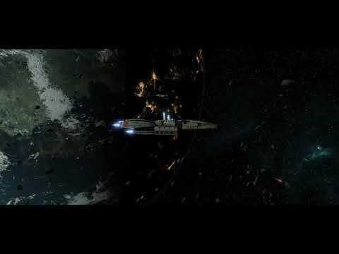 Battlestar Galactica Deadlock: Torpedo testing |