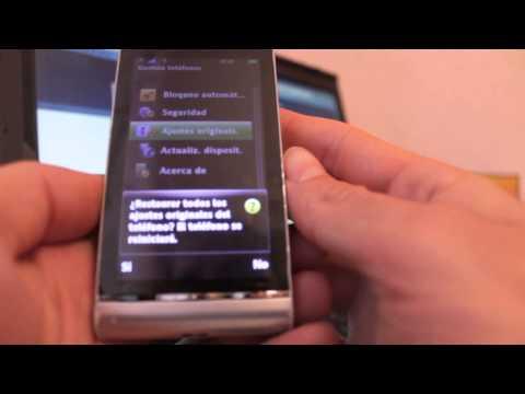 SonyEricsson Satio - Resetear / Reestablecer / Hard Reset - Phone&Cash