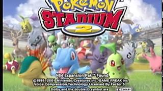 [N64 Longplay] Pokemon Stadium 2 Part 1