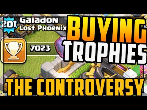'Buying' Trophies? the CONTROVERSY! Clash of Clans Quest to 7000