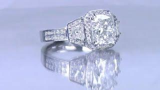 Cushion Cut Engagement Ring - Creating Myong