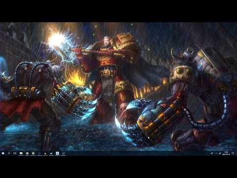 Epic Warhammer 40k Music/Gaming Live Wallpaper HD
