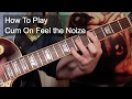 Cum On Feel The Noize Slade Guitar Tutorial mp3