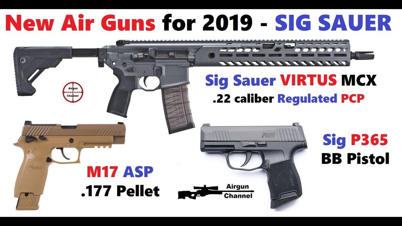 New Air Guns - SIG SAUER - 2019 Shot Show