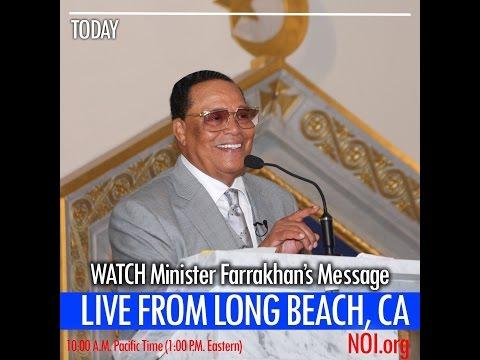 The Honorable Minister Louis Farrakhan - LIVE@ Long Beach California