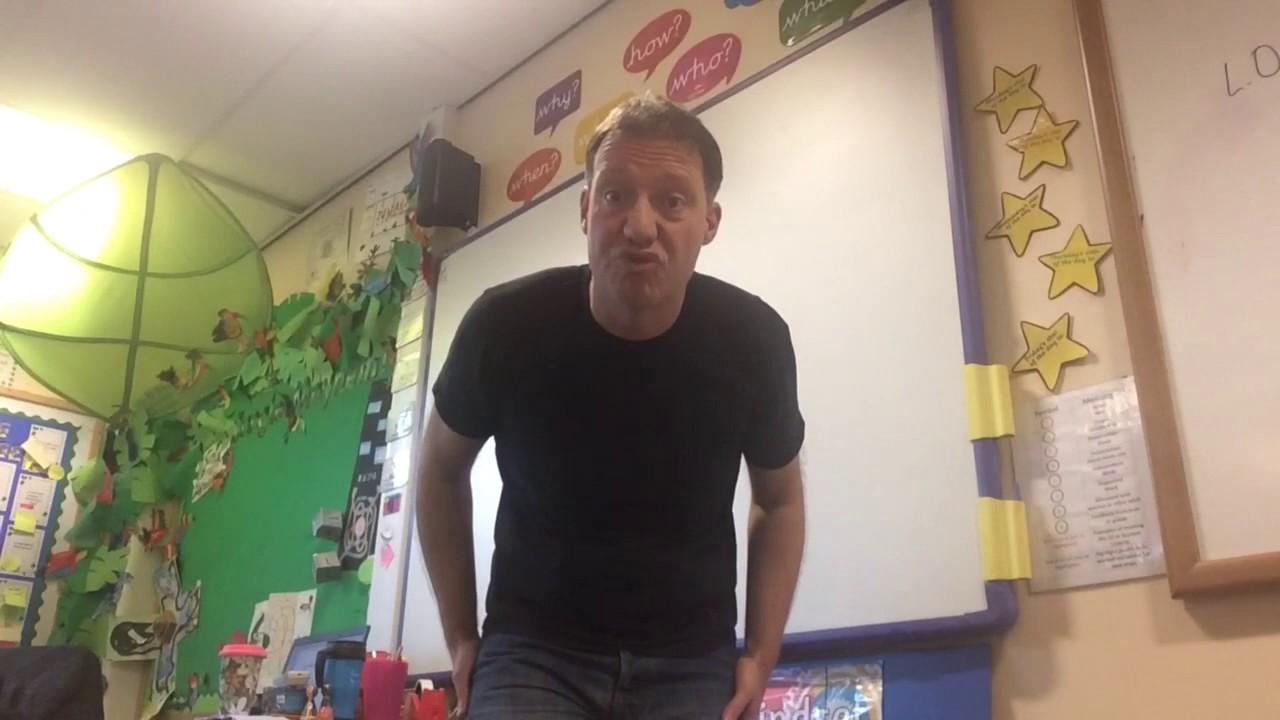 'My bottom did a burp in class' by Paul Jenkins
