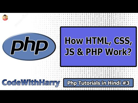 Web Development 101: How HTML, CSS, JavaScript & PHP Work Together | PHP Tutorial #3