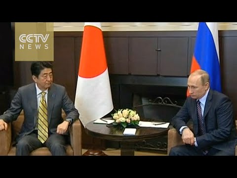 Putin and Abe agree to take part in talks on disputed islands