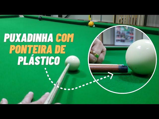 PUXADINHA COM PONTEIRA DE PLÁSTICO x PONTEIRA DE COURO + Uma tacada de efeito