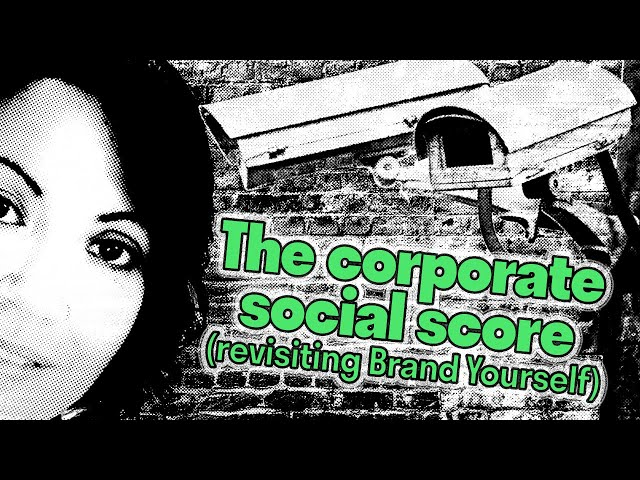 [Digipolitik] Social Scores are for China, right? Fama, BrandYourself & Our Dystopian Nightmare