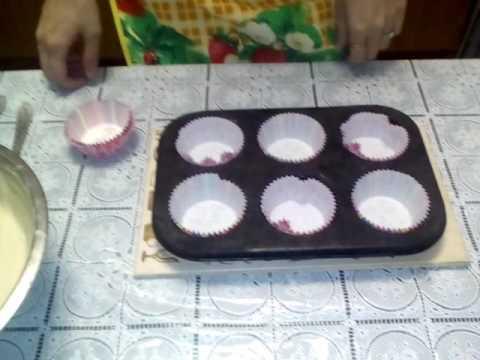 Вкуснейшее блюдо Самый простой рецепт кексы Маффины с шоколадом