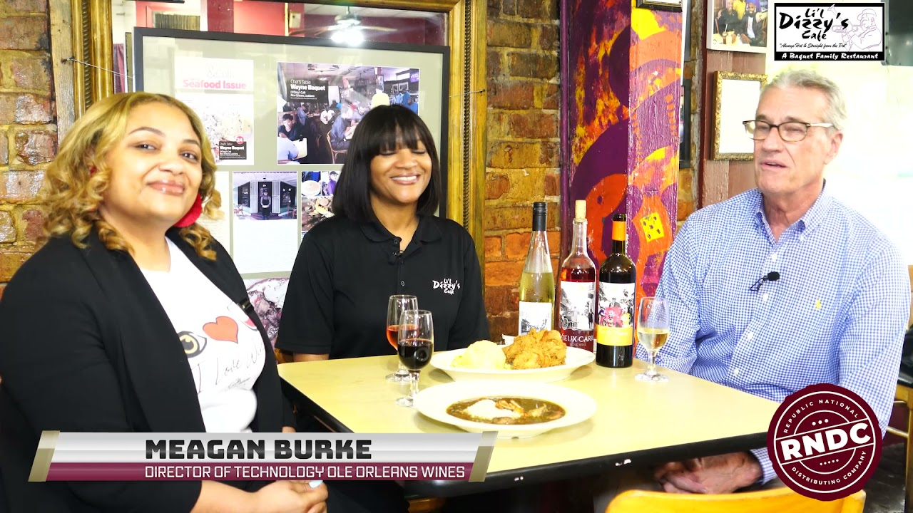Lifting Community Spirits: with Arkesha Baquet, Lil Dizzy's Cafe & Meagan Burke, Ole Orleans Wines