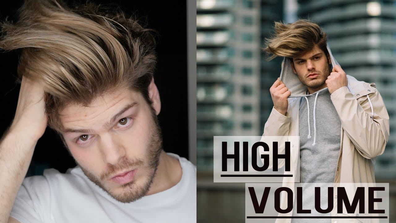 Long Undercut Pompadour Hairstyle Very High Volume Haircut Nyfw