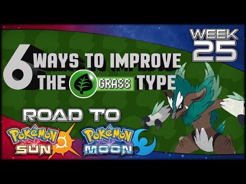 6 Ways Pokemon Sun And Moon Could Improve The Grass Type [Road To Pokemon Sun & Moon Week 25]