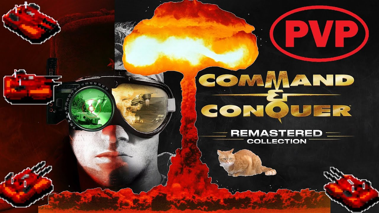 Multiplayer Online Command & Conquer Remaster PVP