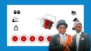 Astronomia (Coffin Dance Meme Song) on Bongo Cat app
