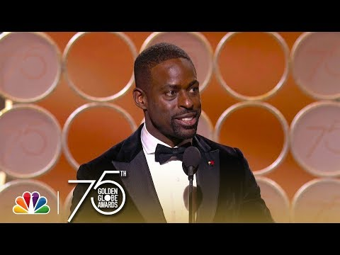 Sterling K. Brown Wins Best Actor in a TV Series, Drama at the 2018 Golden Globes streaming vf