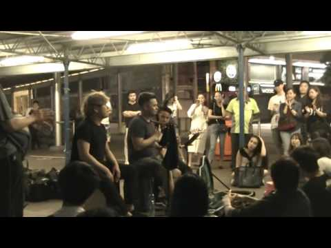 Unknown Performing Artist cover 陳奕迅 -- 黃金時代@Star Ferry Pier TST (26052016 )