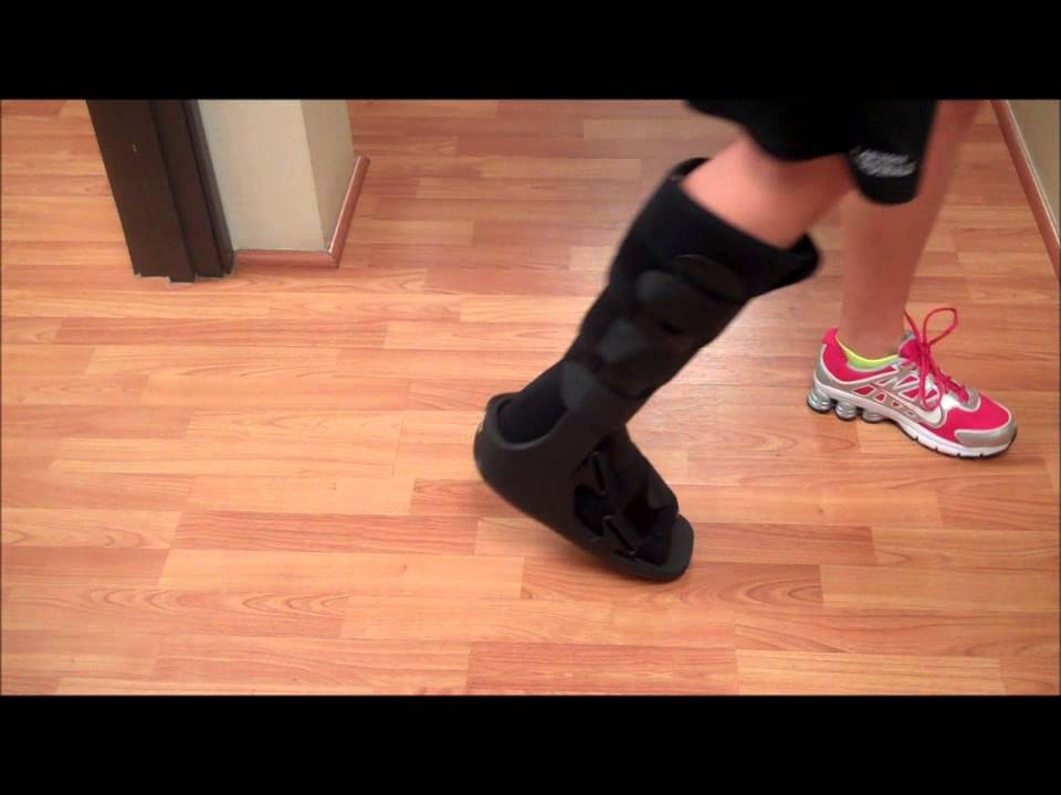 Sole Foot and Ankle Specialists - How to use a CAM Walker/Walking Boot