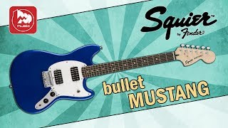 Электрогитара FENDER SQUIER BULLET MUSTANG HH
