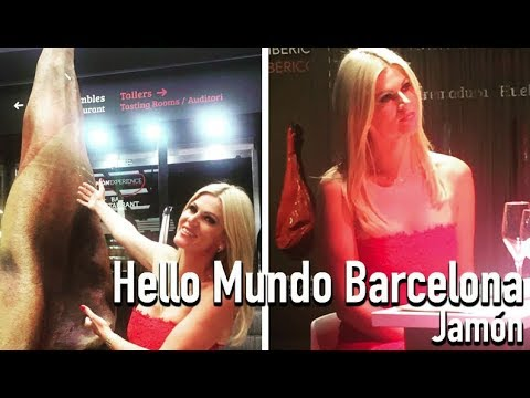Hello Mundo Barcelona - Jamón