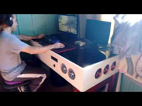 Mesa pc gamer youtube for Mesa de pc