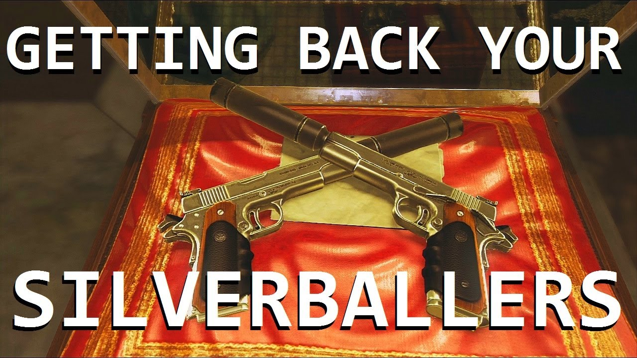 Hitman Absolution Getting Back Your Silverballers Fastest Way Very Easy Youtube
