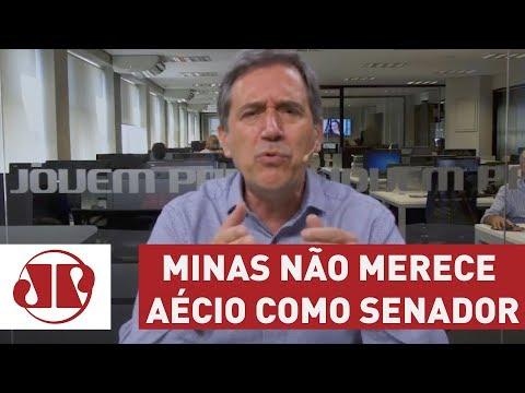 Minas não merece Aécio como senador | Marco Antonio Villa