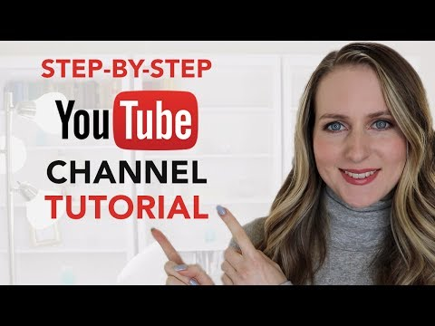 How to MAKE a YouTube Channel: Step-by-Step Tutorial