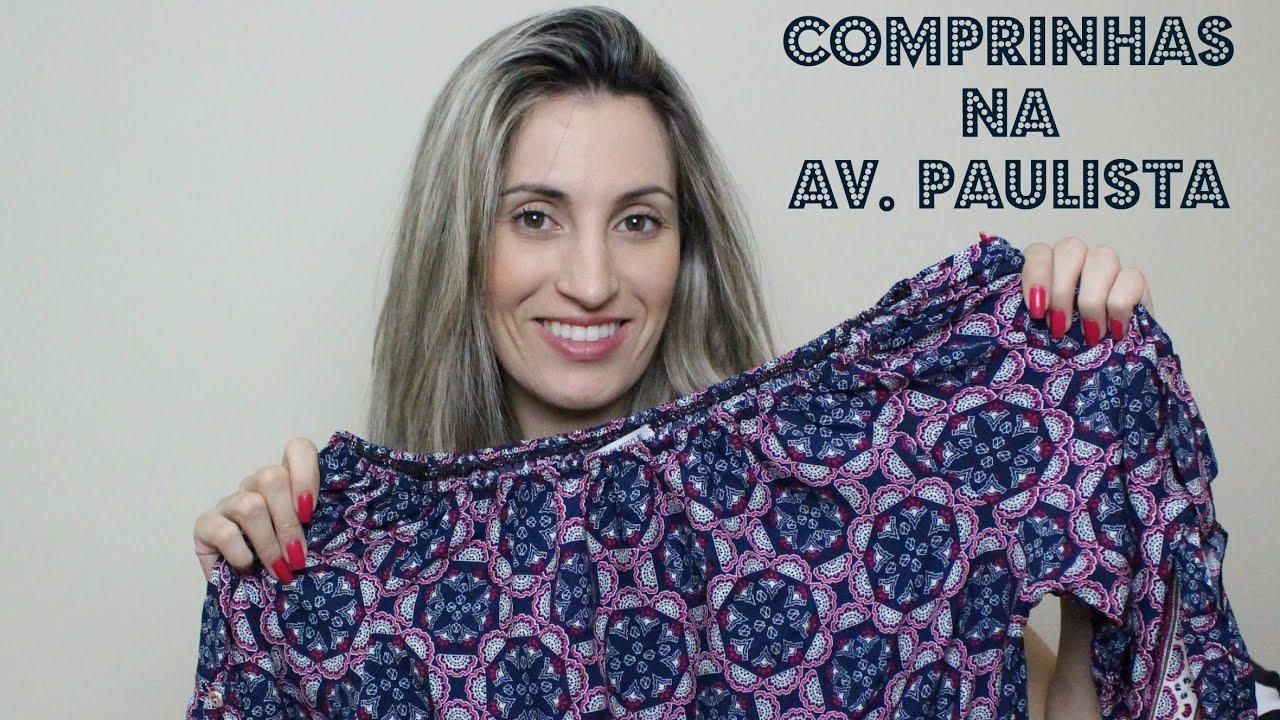 6ea58f00d Comprinhas na Av. Paulista - YouTube